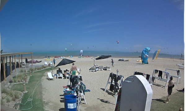 Webcam8 Kitesurf Kitepower El Gouna