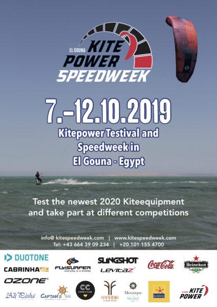 KPSW-A3-Poster_English Kitesurfen Kitepower El Gouna